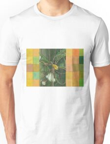 Entanglement (Detail Section 1a), On the Outer - Tree Trunk Extracts   Unisex T-Shirt