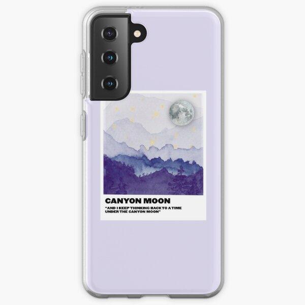 canyon moon polaroid Samsung Galaxy Soft Case