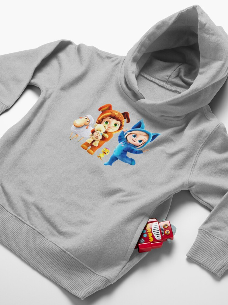 Alternate view of Ava and Dave baby Toddler Pullover Hoodie