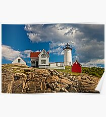 Nubble Lighthouse, York, ME Poster
