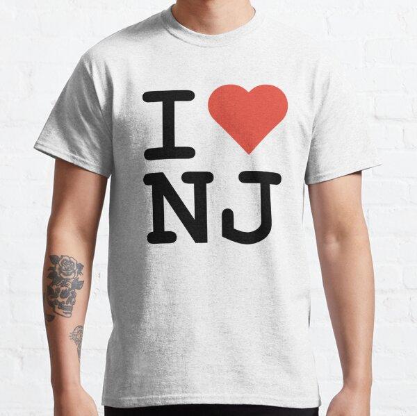 Home Grown  New Jersey T-Shirt Garden State T-Shirt NJ T-Shirt Red T-Shirt
