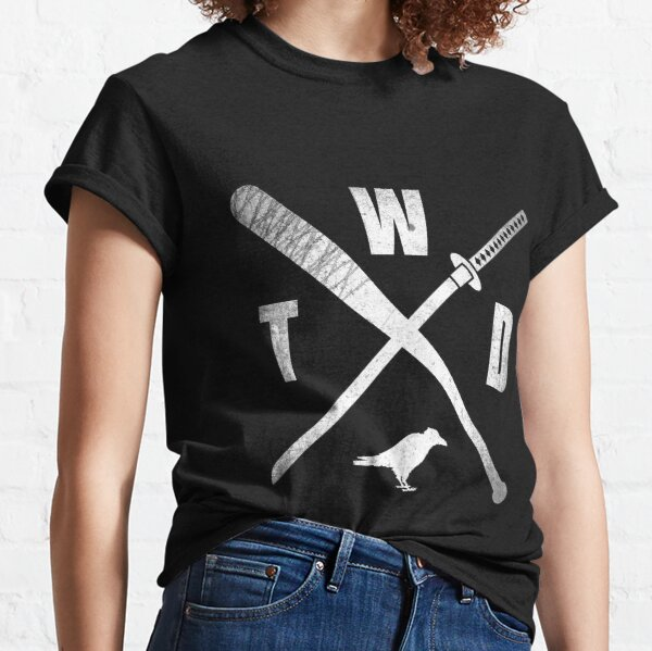 TWD CROSSED WEAPONS Classic T-Shirt