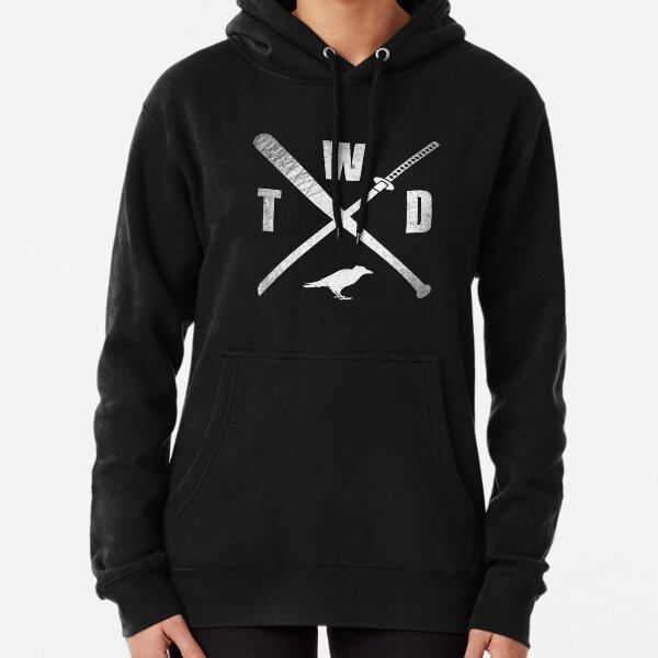 TWD CROSSED WEAPONS Pullover Hoodie
