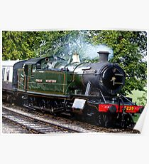 Goliath The Steam Engine Poster
