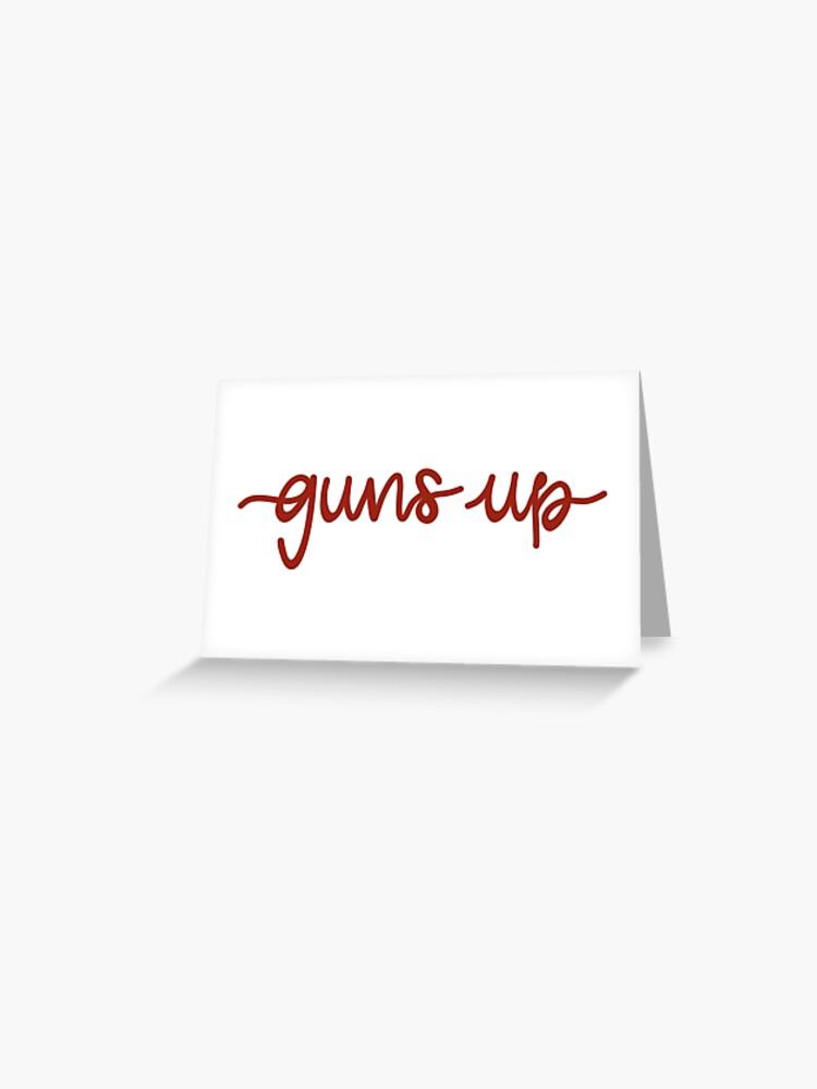 Guns Up Nmsu Aggies Greeting Card By Annaharmonart Redbubble