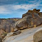Augrabies rock formations #2 by Rudi Venter