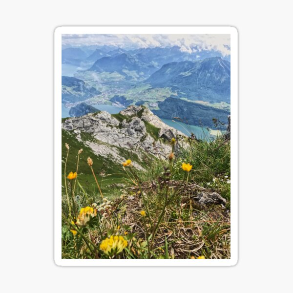 Mt. Pilatus Sticker