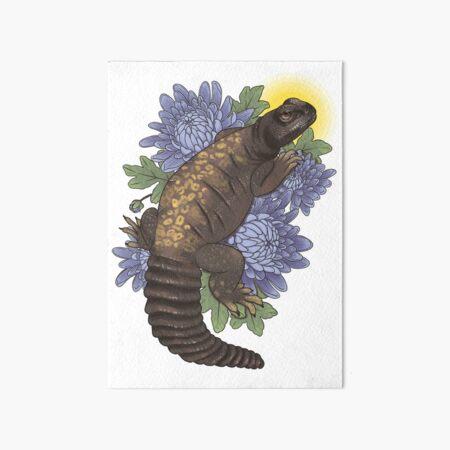 Lizard 5x7 Card A Bouquet For You