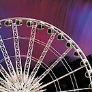 The Ferris Wheel at Niagara Falls by Rick Wollschleger