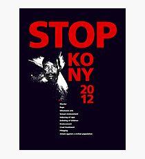STOP KONY 2012 Photographic Print