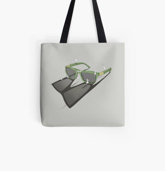 Ändere deinen Blickwinkel - Sonnenbrille Allover-Print Tote Bag