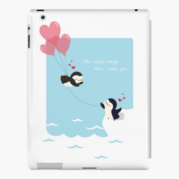 Penguin Love iPad Snap Case