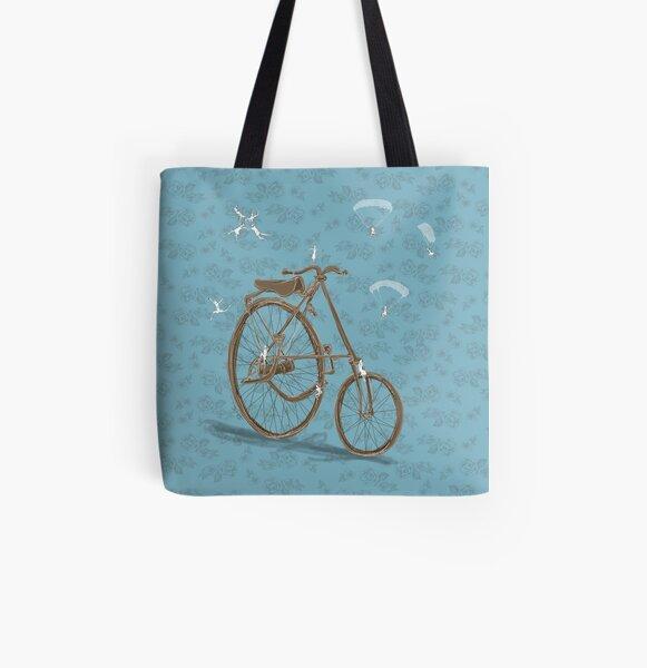 Vintage Rad Allover-Print Tote Bag