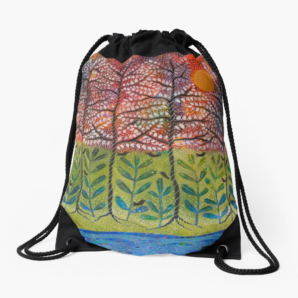 """Love is Energetic"" Drawstring Bag"
