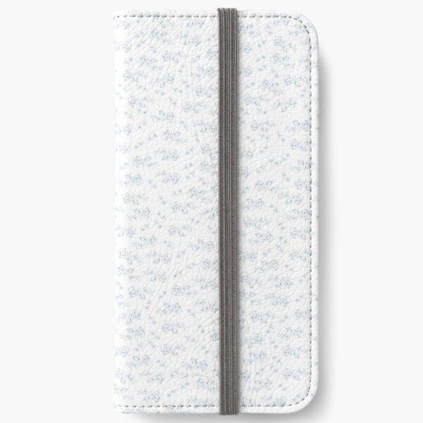Blaue Rosen iPhone Flip-Case