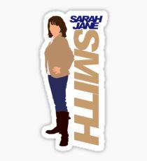 SMITH. Sarah Jane Smith Sticker