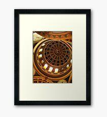 Capitol Dome (Helena, Montana) Framed Print