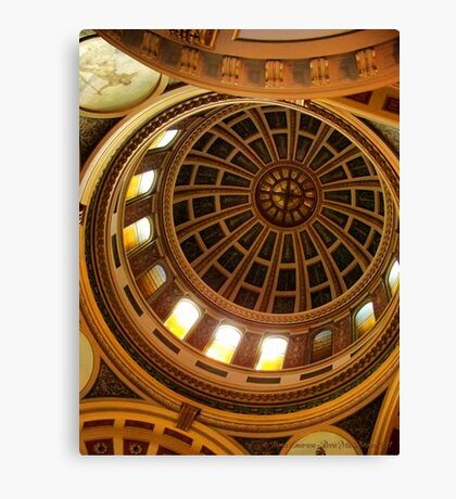 Capitol Dome (Helena, Montana) Canvas Print