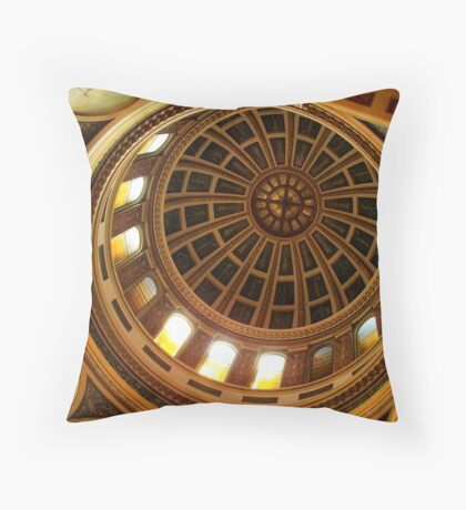 Capitol Dome (Helena, Montana) Throw Pillow