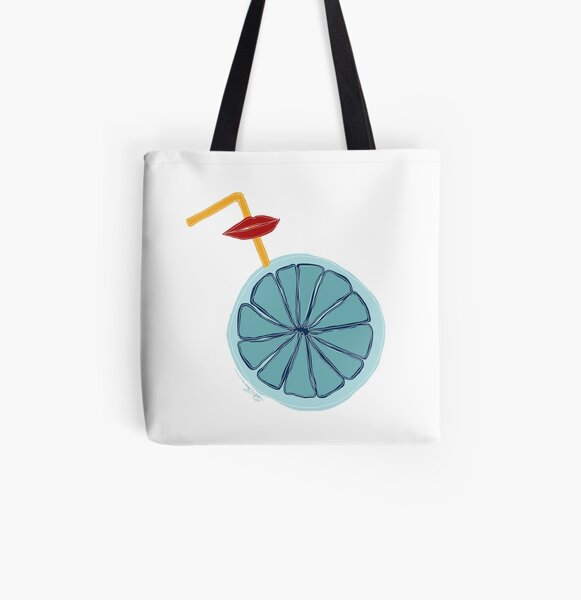 Everything is blue Allover-Print Tote Bag