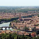 View over Verona - Italy by Arie Koene