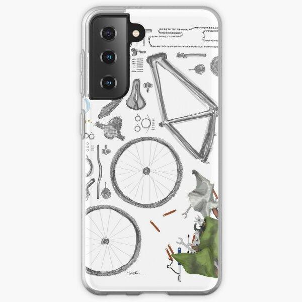 Bike's flatlay Samsung Galaxy Flexible Hülle