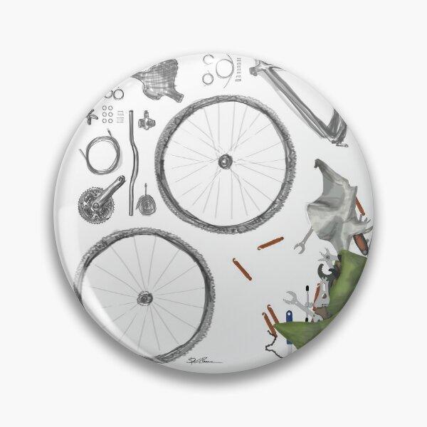 Bike's flatlay Button