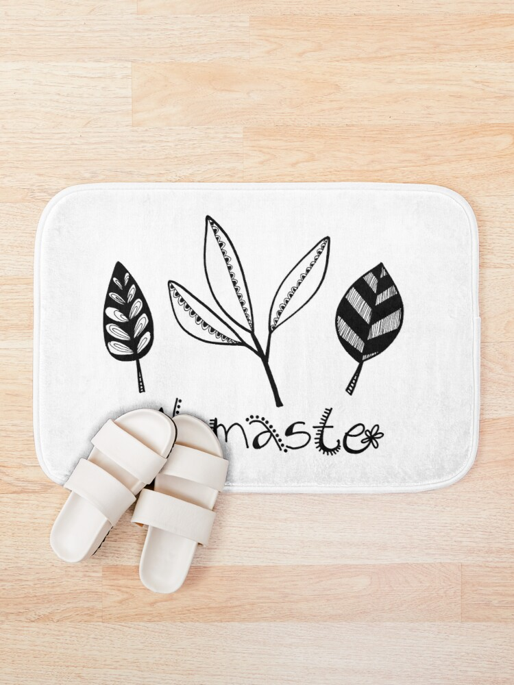 Alternate view of Namaste Bath Mat