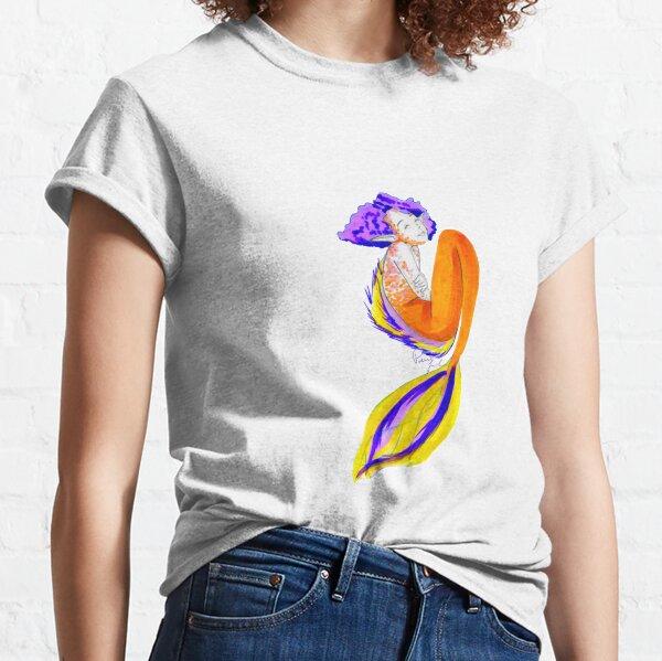 Koi Fish Mermaid Classic T-Shirt