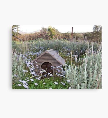 New Home Kennel Canvas Print