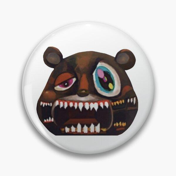 my beautiful dark twisted fantasy bear Pin