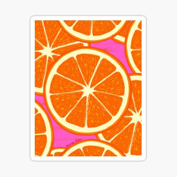 Orange Slices  Sticker
