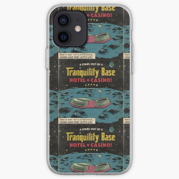 Base de tranquilidad Funda blanda para iPhone