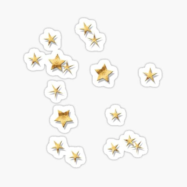 Gemini Golden Stars Constellation Sticker