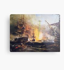 The Real History Metal Print