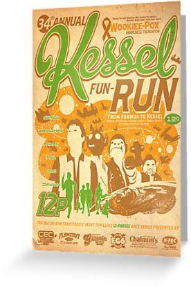 Kessel Fun-Run (12-Parsec Race to Cure Wookiee-Pox) by Captain RibMan