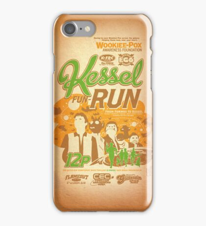 Kessel Fun-Run (12-Parsec Race to Cure Wookiee-Pox) iPhone Case/Skin