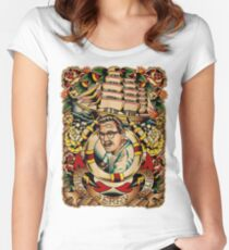 """Old Timers - Norman Collins """"Sailor Jerry"""" Women's Fitted Scoop T-Shirt"""