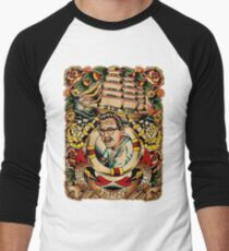 """Old Timers - Norman Collins """"Sailor Jerry"""" Men's Baseball ¾ T-Shirt"""
