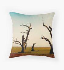 Bellbrae Trees Throw Pillow