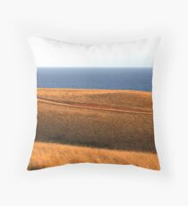 Bells Beach Hills Dusk Throw Pillow