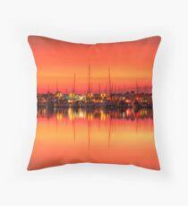 Cullen Bay Sunset Throw Pillow
