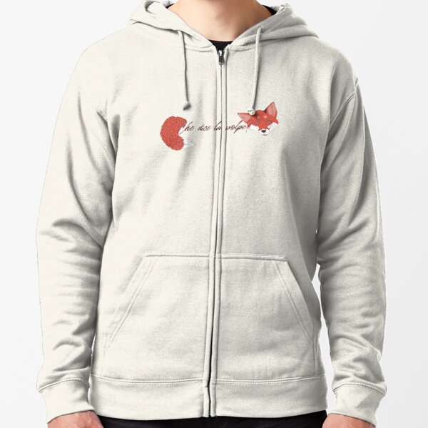 What Does The Fox Say - Italiano Zipped Hoodie