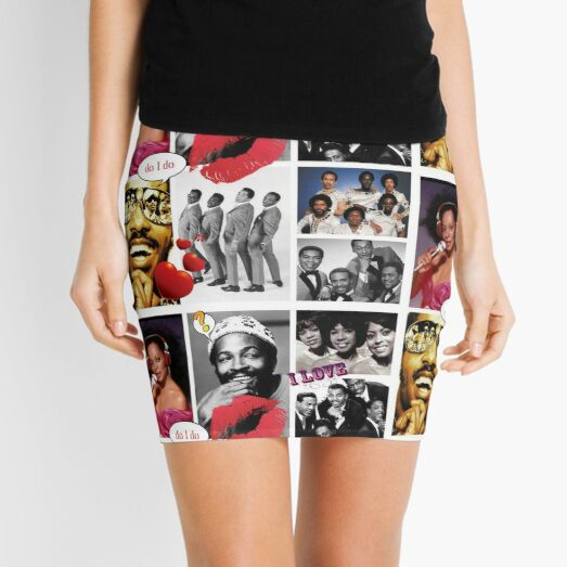 Motown Music Mini Skirt
