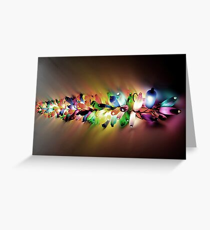 Recycled Light Greeting Card