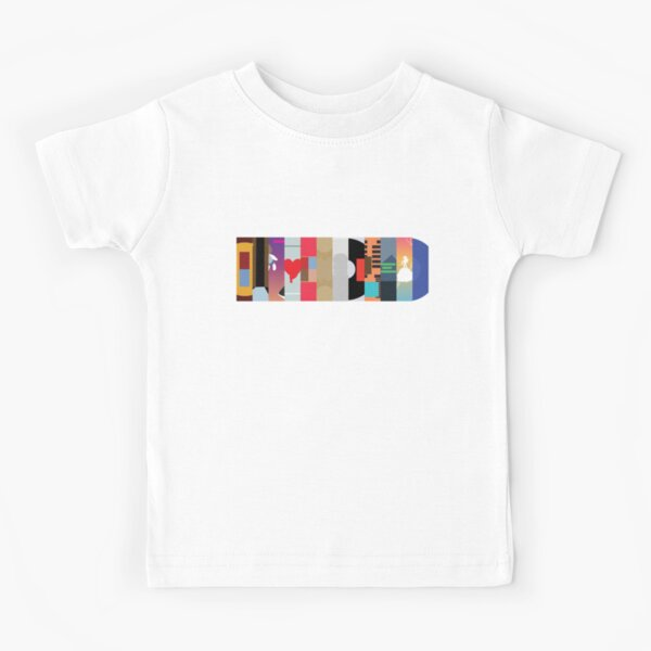 kanye west discography Kids T-Shirt