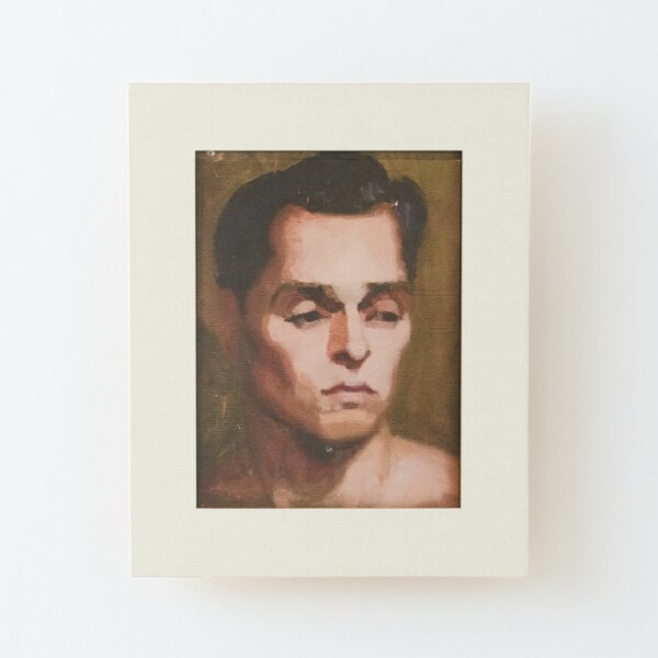 Portrait  |  Will & Grace Wood Mounted Print