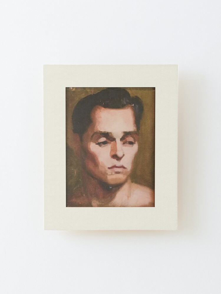 Alternate view of Portrait  |  Will & Grace Mounted Print