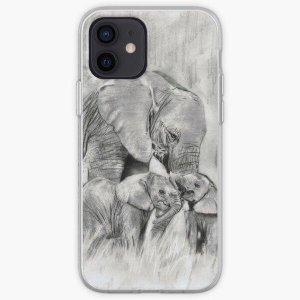 lil elephants...pencil iPhone Soft Case