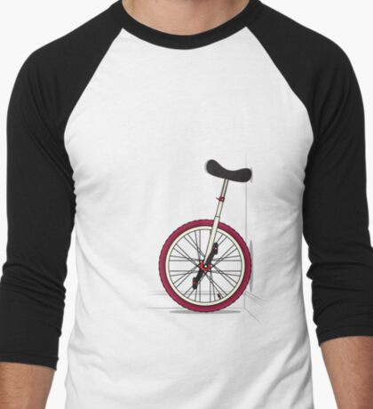 Unicycle By Wall T-Shirt